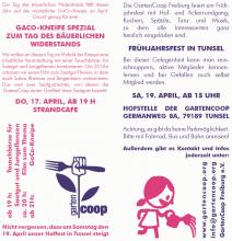 Frühjahrsfest in Tunsel - 19. April 2014