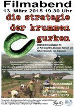 Plakat Filmveranstaltung Straubing